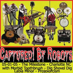 captured by robots - the milestone